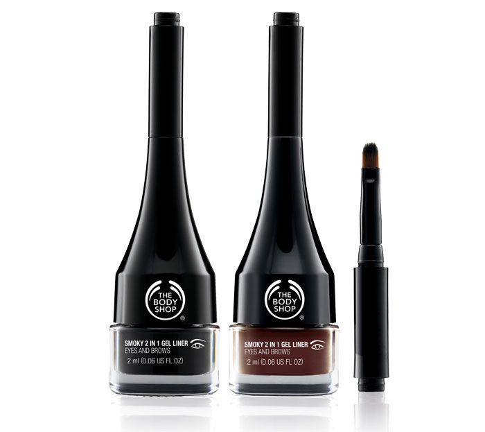 The Body Shop Smoky 2 In 1 Gel Liner: A quick review