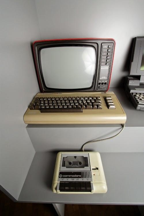 Ein C64 im Museum für Kommunikation Nürnberg.