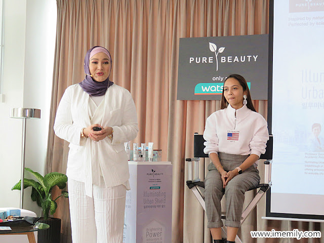 Pure Beauty Illuminating Urban Shield Skin Care Range