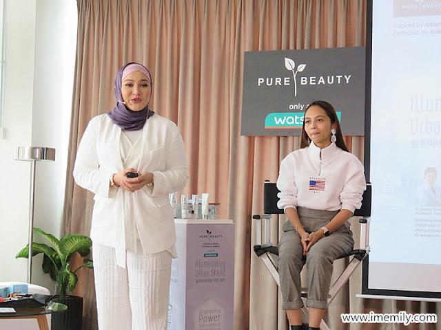 Pure Beauty Illuminating Urban Shield Skin Care Range