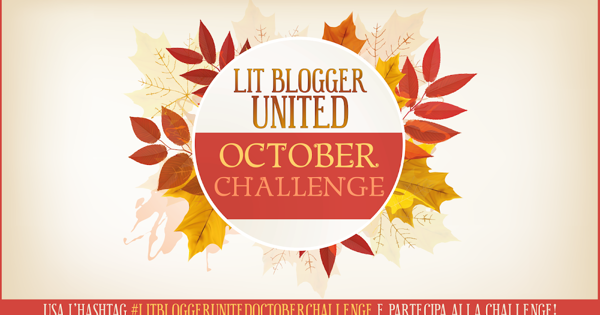 LitBloggerUnited OCTOBER CHALLENGE