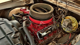 1969 Oldsmobile Cutlass Hurst Olds Engine 02