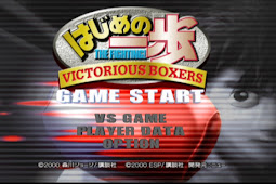 Hajime No Ippo Victorious Boxer PS2 ISO