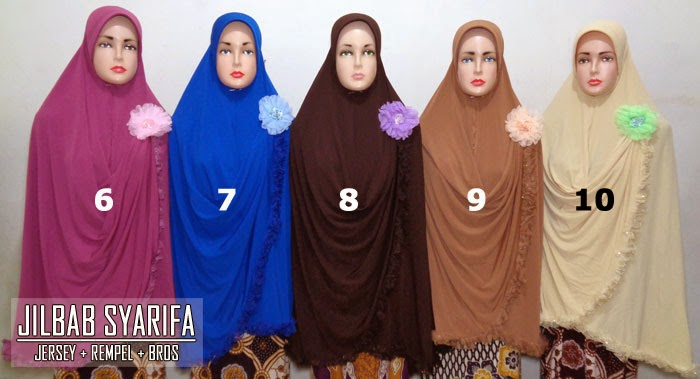 Jilbab syar'i jumbo super edisi 2015