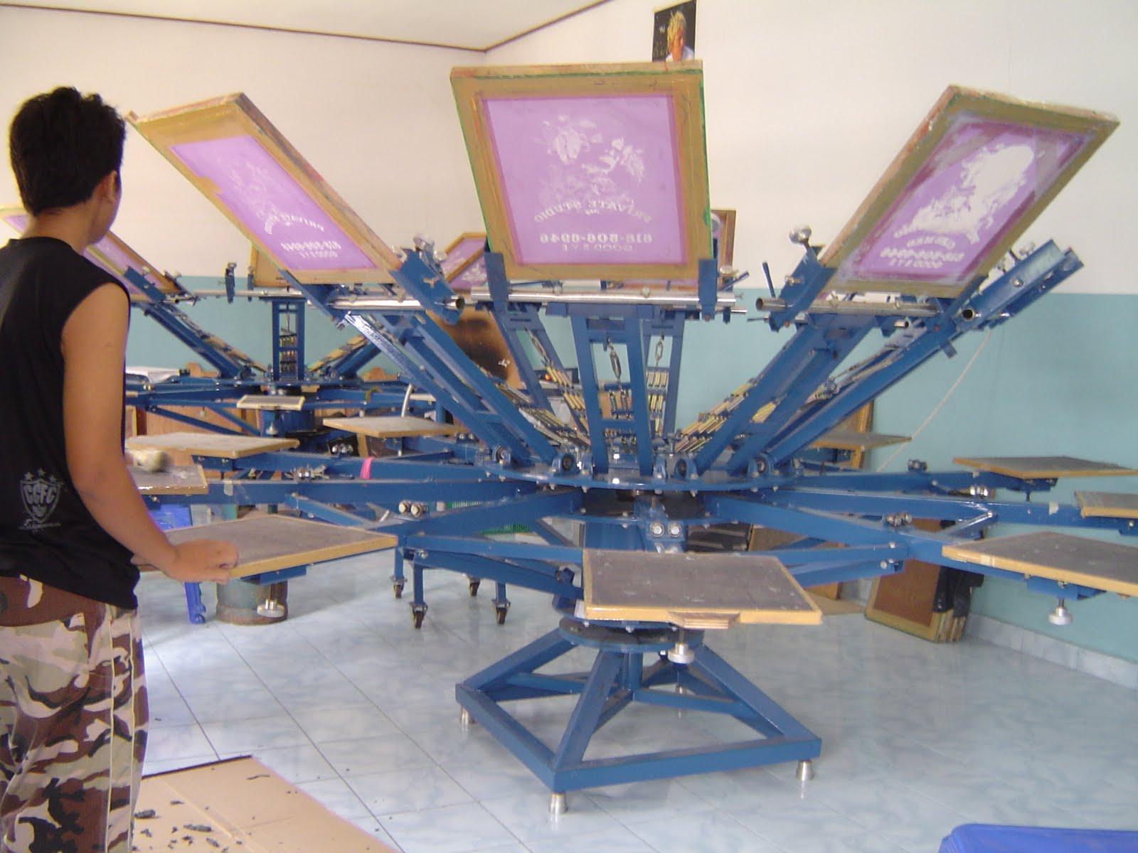 Carousel ( Rotary Screen Printing Machine ) BL301 ...