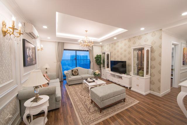 Nội thất sang trọng, hiện đại trong căn hộ TNR Goldmark City