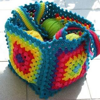 Receitas De Crochet Bolsas De Crochet Coloridas