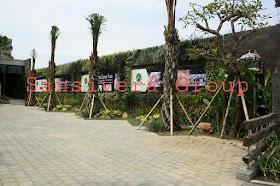 Desain Landscape Taman hotel