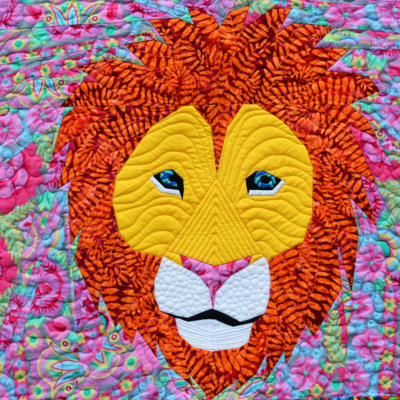 The Tartankiwi: Lion Quilt : lion quilt pattern - Adamdwight.com