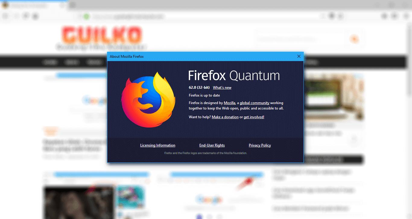 Kelebihan Firefox Quantum