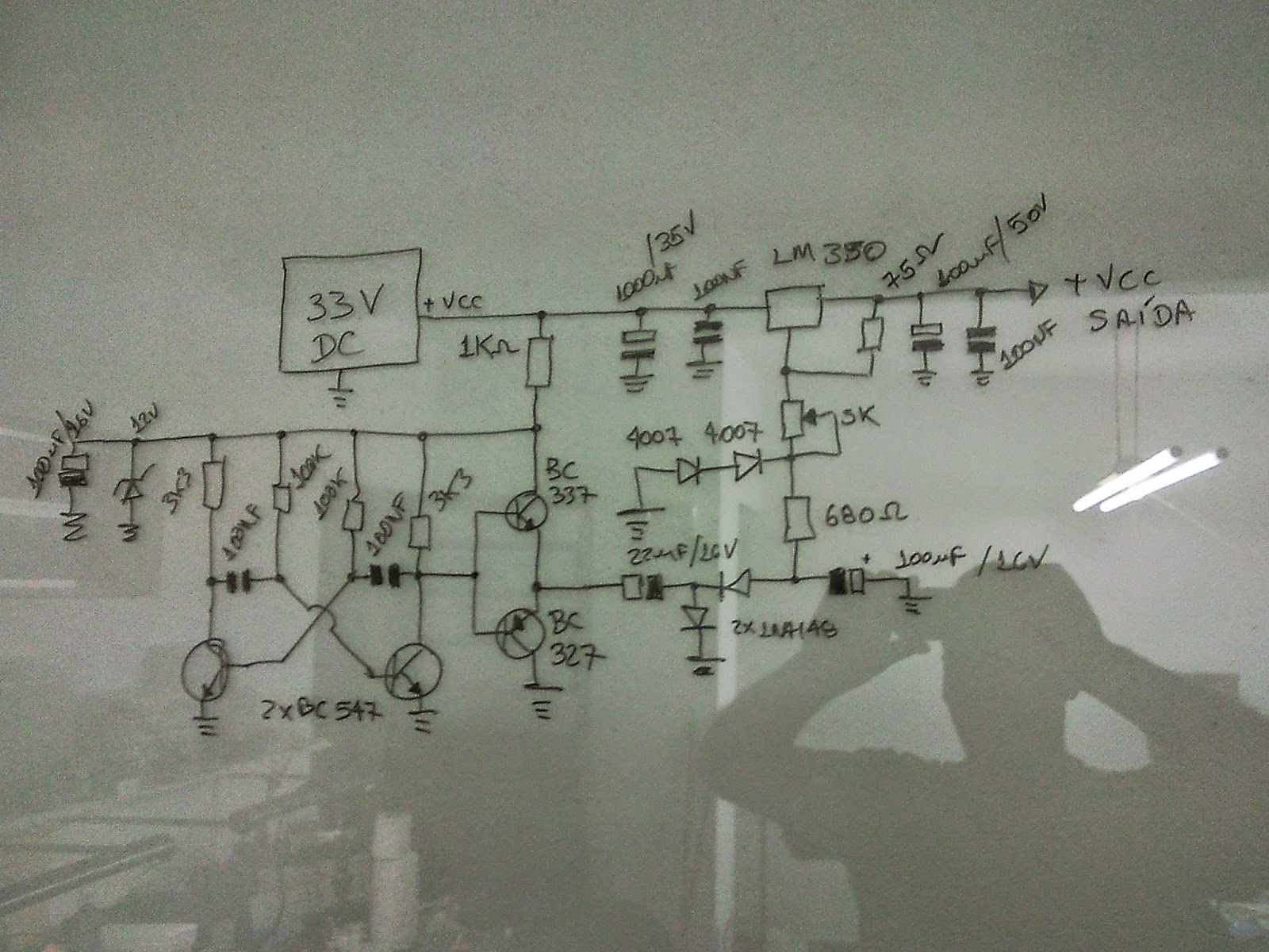 Esse Circuito Muito Interessante Ele Usa Um Regulador Lm317 Que