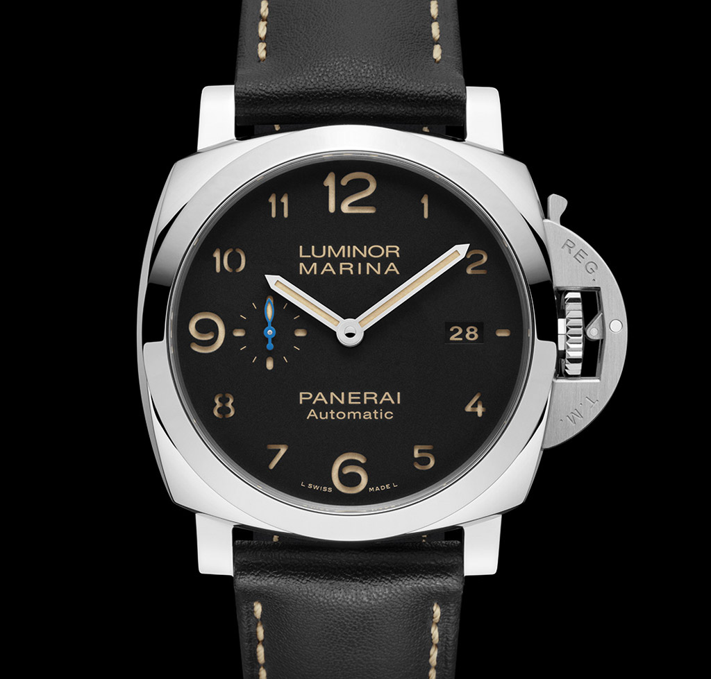 officine panerai luminor marina 1950 3 days new models time and watches. Black Bedroom Furniture Sets. Home Design Ideas