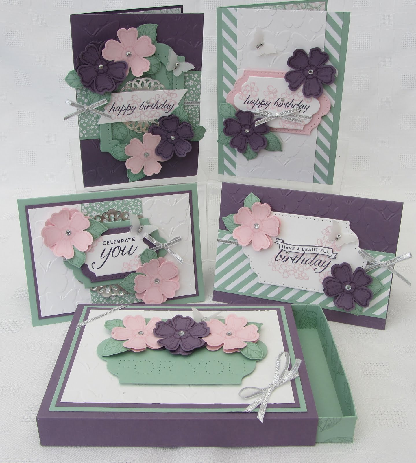Birthday Blossoms Stamp Class