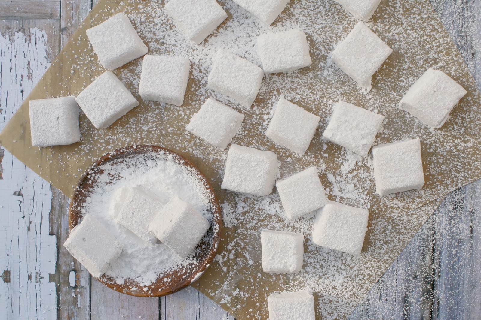 Homemade Chambord Marshmallows