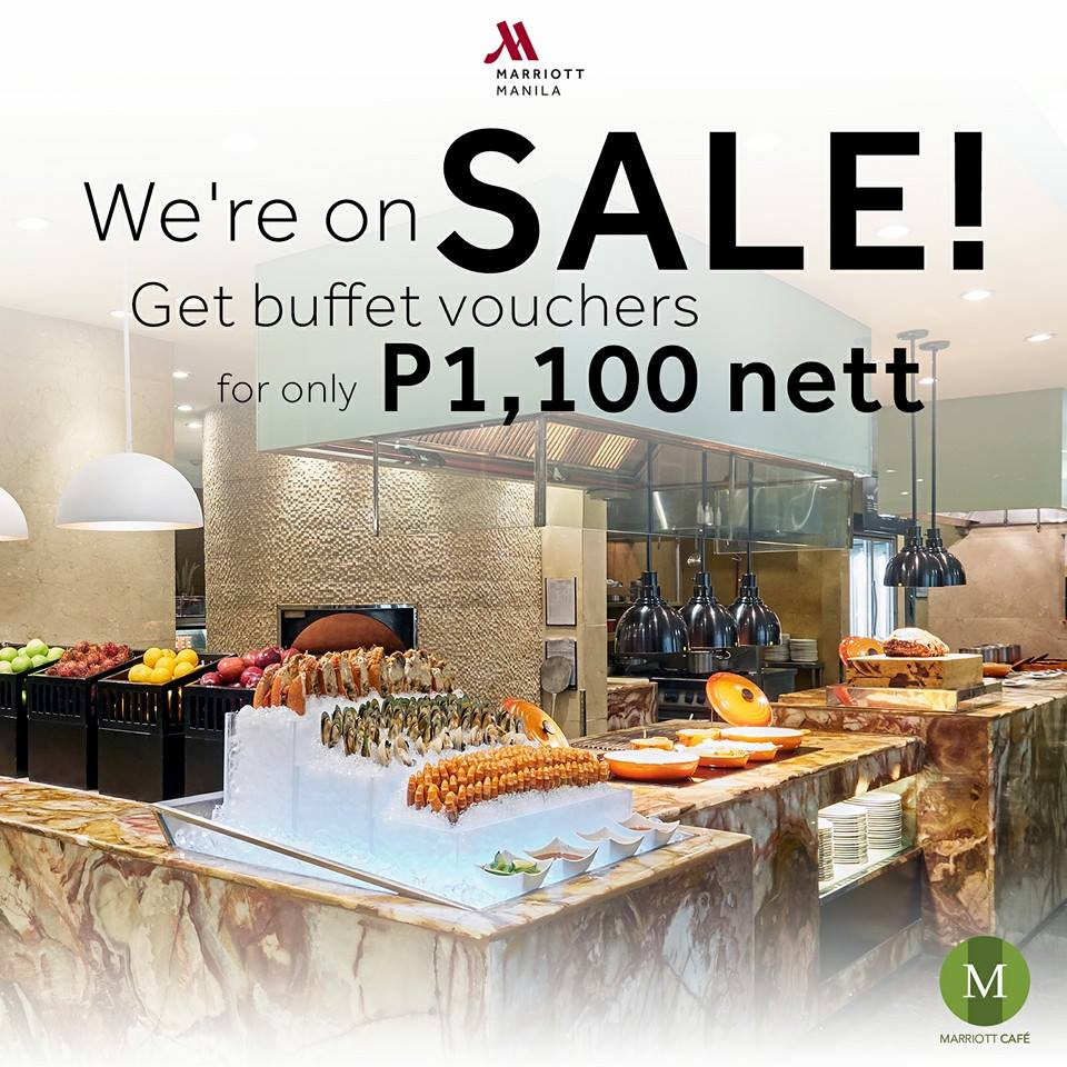 Marriott Cafe Buffet Price Manila