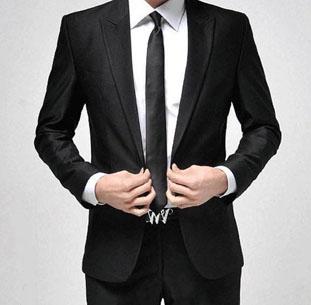 Hombre en terno