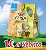 Logo Parmareggio : buono sconto Snack Però