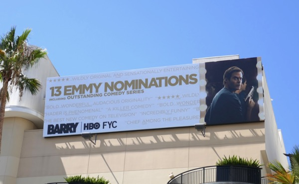 Barry 13 Emmy nominations billboard