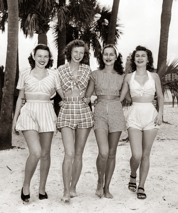 1940s playsuit inspiration