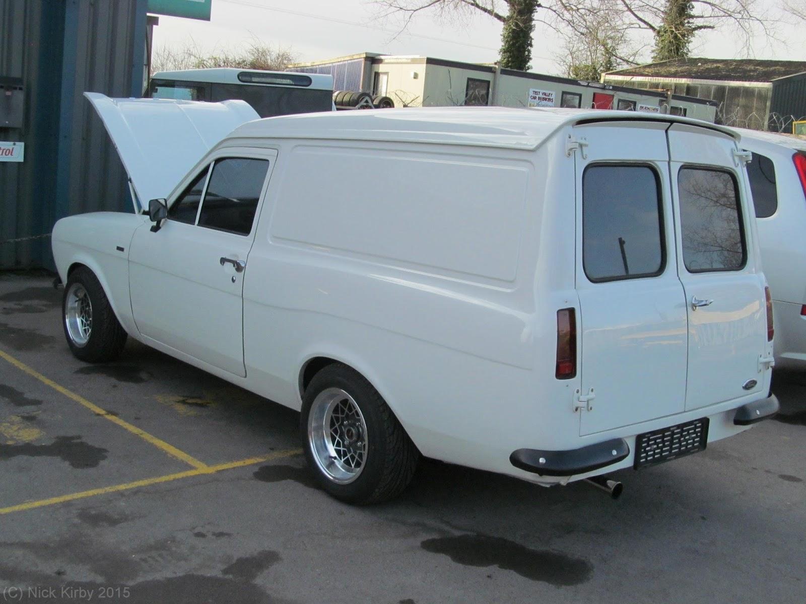 Le meilleur: escort mk1 van