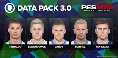 PES 2018 Update Patch Datapack 3.0 [ STEAM / NON-STEAM ]