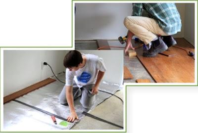 Bamboo Flooring Installations