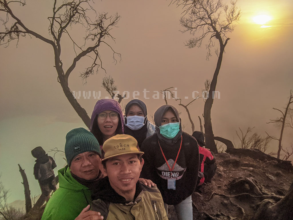 Sunan Ibu, Gunung Patuha Bandung