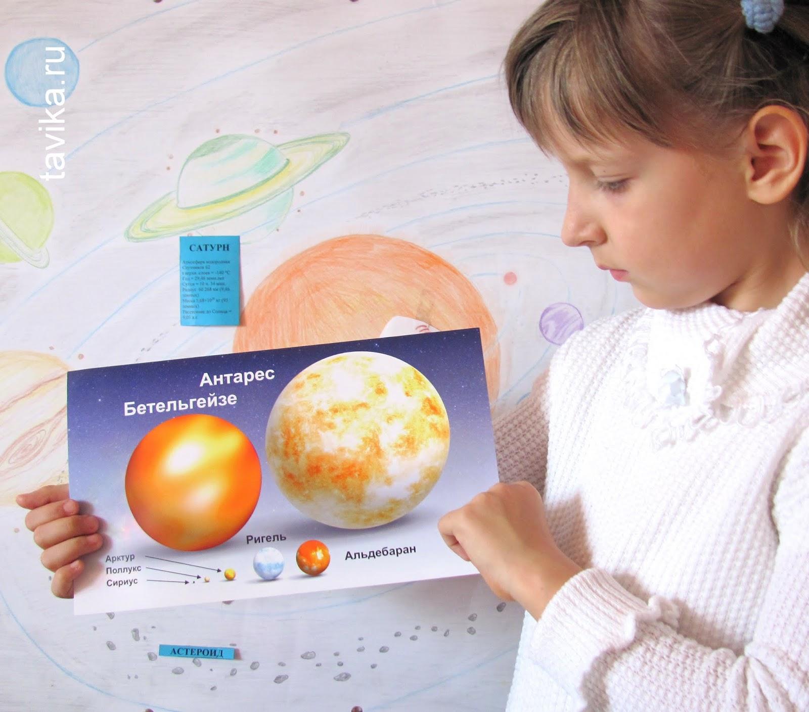 Плакаты с планетами