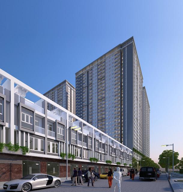 Phối cảnh mặt tiền City Gate 3 - Chủ đầu tư NBB