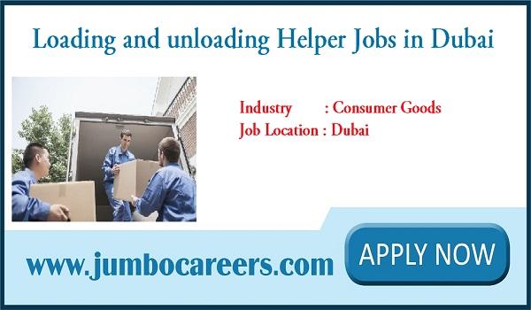 Loading and Unloading Helper Jobs in Dubai