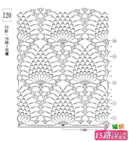 Kiki Crochet- English: Crochet Pineapple Stitch (photos