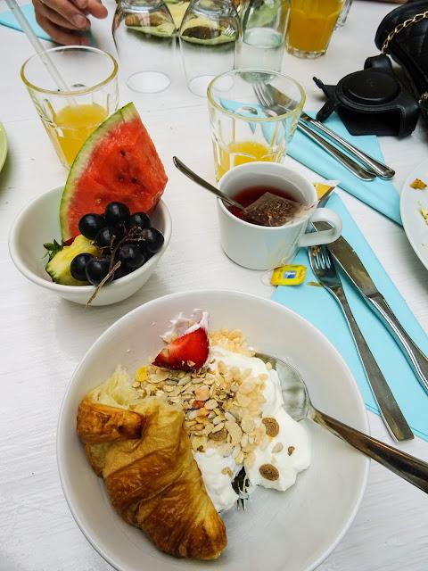 Cafe Köket, Kesäbrunssi, brunssi