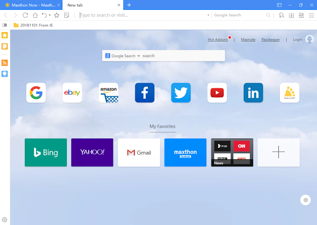 تحميل المتصفح Maxthon Beta لتصفح مواقع الويب