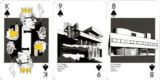 キングはコルビュジェ クイーンはザハ 世界の建築と建築家をイラストにしたトランプ Playing Architecture 今日も 建築専門店