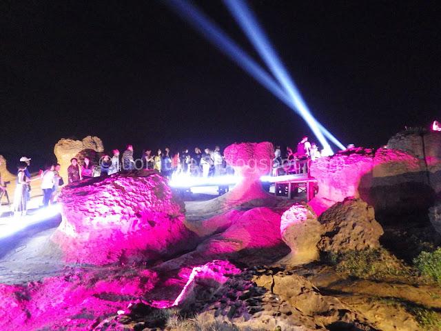 Yehliu Geopark Night Tour
