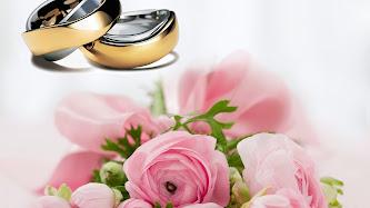 Wallpaper: Gold Wedding Rings