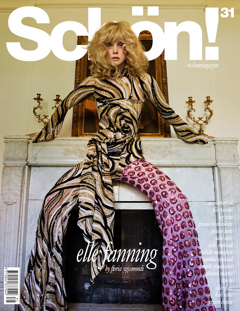 Actress, @ Elle Fanning - Schön Magazine Issue 2016