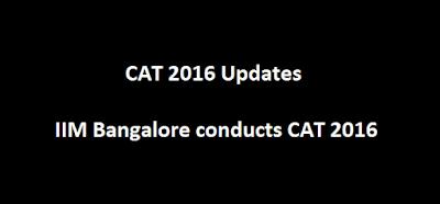 CAT 2016 updates