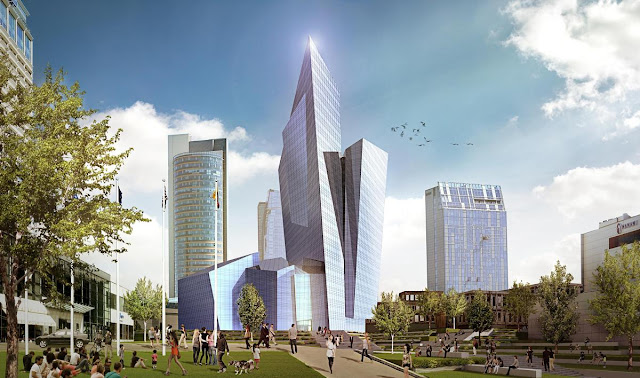 Daniel-Libeskind-Studio-Libeskind-Vilnius-Lithuania-architecture-mixed-use-glass-tower-Lithuania
