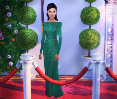 The sims 4 Angelina Jolie Download