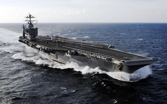 В США не могут набрать экипаж авианосца для похода на Крым