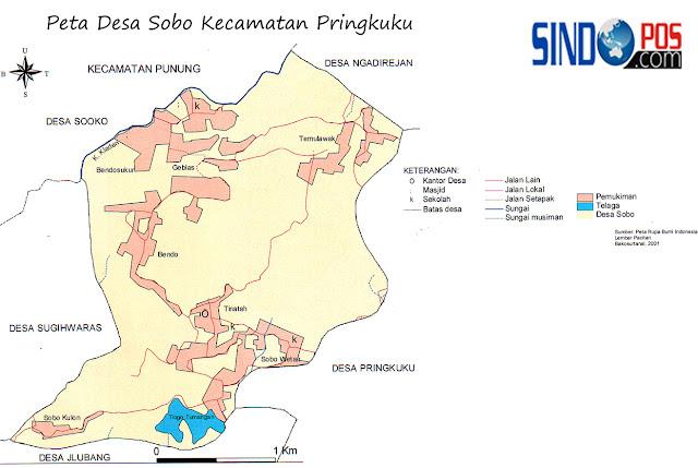 Profil Desa & Kelurahan, Desa Sobo Kecamatan Pringkuku Kabupaten Pacitan