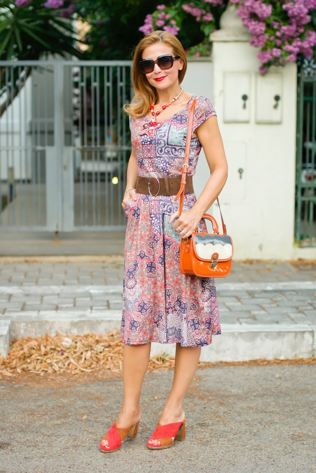 Hippie chic style on Fashion and Cookies fashion blog, fashion blogger style