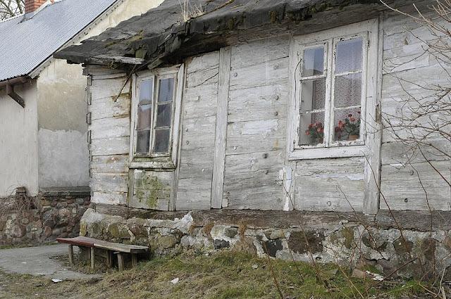 Czerwińsk, chata, wieś, bieda, Mazowsze