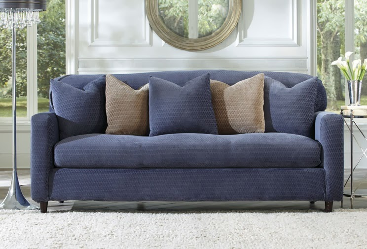 Sure Fit Slipcovers What S Our New Hue Grey And Blue