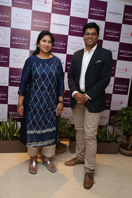 Kavitha Dutt Chitturi, Executive Director of KCP Limited & Mr. Dinesh Rai General Manager, Mercure Hyderabad KCP-