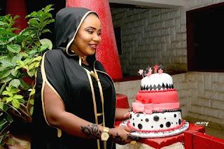 HOTUNA : Zafafan Hotunan Happy Birthday Din Jaruma Halima Atete