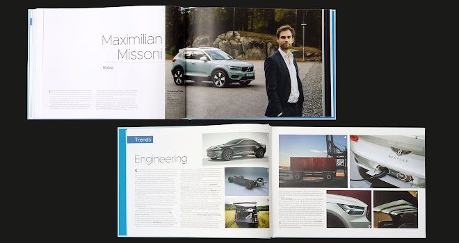 CDR 5 pages showing Max Missoni interview and Engineering roundup