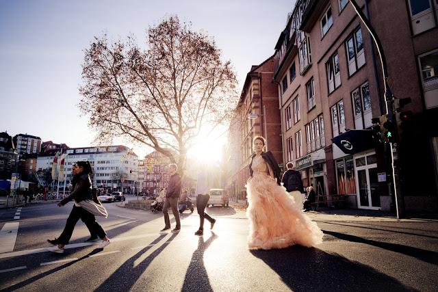 Stuttgarter Bloggerin Jaci von Fleur et Fatale bei Carrie Bradshaw Shooting