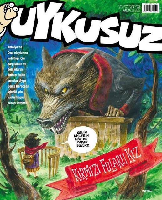Uykusuz Dergisi - 5 Haziran 2014 Kapak Karikatürü